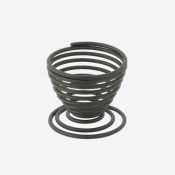 Point-Virgule Wire eierdopje zwart 5x5x5cm (per 12st.)