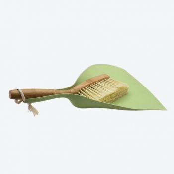 Point-Virgule set van stoffer en blik uit bamboe en gerecycl. kunststof 37x25.5x8cm