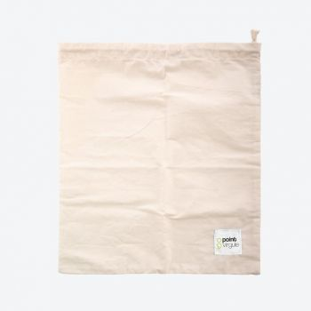 Point-Virgule herbruikbare broodzak uit katoen 30x38cm (20st./disp.)