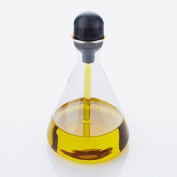 Point-Virgule glazen oliefles met pipet 250ml