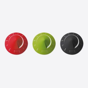 Point-Virgule kookwekker manueel groen - rood of zwart (12st./disp.)