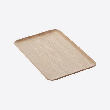 Point-Virgule rechthoekig dienblad houtkleur 33x23cm