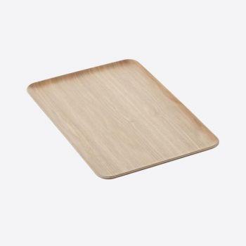 Point-Virgule rechthoekig dienblad houtkleur 39x27cm