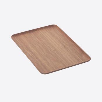 Point-Virgule rechthoekig dienblad walnoot 39x27cm