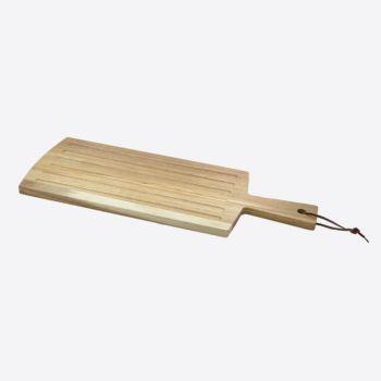Point-Virgule broodplank met handvat uit acaciahout 50x19x1.5cm