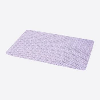 Point-Virgule placemat uit silicone paars 45x30cm
