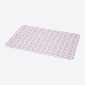 Point-Virgule placemat uit silicone roze 45x30cm