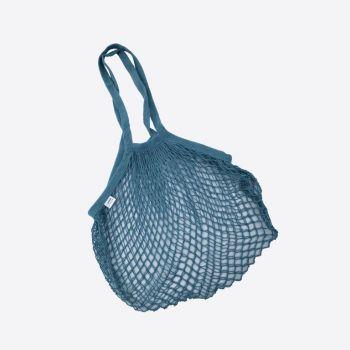 Point-Virgule Parijse nettas met lange handvatten donkerblauw 33x45cm