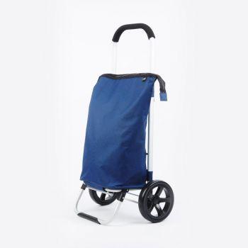 Point-Virgule shopping trolley marineblauw