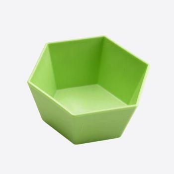 Point-Virgule 4x 6-hoekige bakvorm voor cupcake