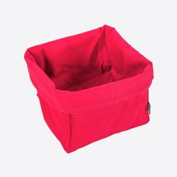 Point-Virgule broodmand rood 20x20x20cm