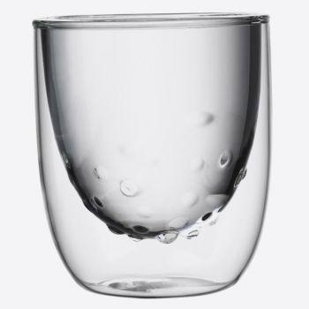 QDO Elements set van 2 dubbelwandige glazen Water 210ml