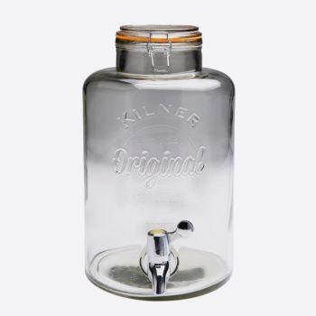 Kilner ronde drankdispenser met kraantje 8L (per 2st.)
