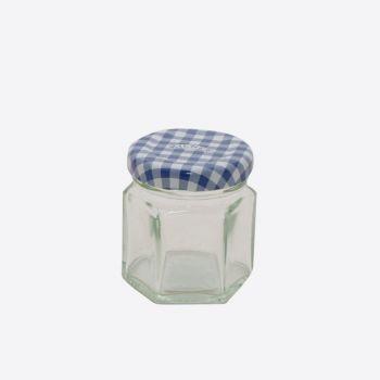 Kilner zeshoekige glazen bokaal met schroefdeksel 48ml (12st./disp.)