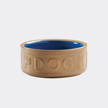 Mason Cash Cane Coloured hondenvoederbak blauw ø 15cm (per 6st.)