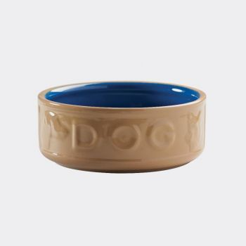 Mason Cash Cane Coloured hondenvoederbak blauw ø 18cm (per 6st.)