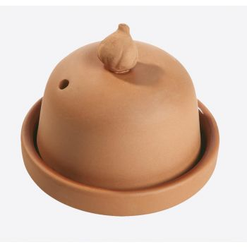 Römertopf knoflook ovenschaal uit aardewerk