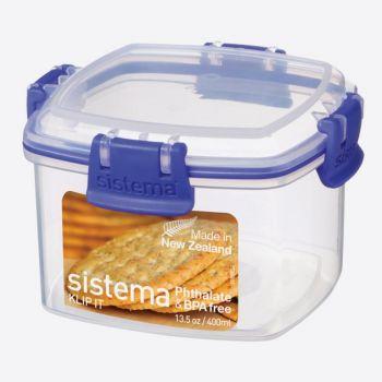 Sistema Klip It koekjesdoos Cracker 400ml (per 8st.)