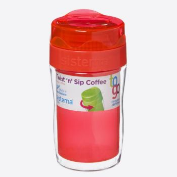 Sistema To Go koffiebeker klein Twist n Sip 315ml (6 ass.)