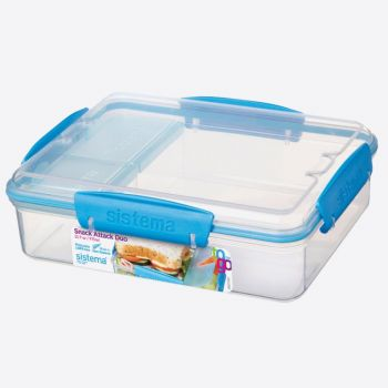 Sistema To Go lunchbox Snack Attack Duo 975ml (6 ass.)
