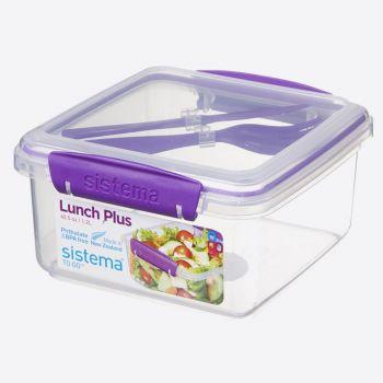 Sistema To Go lunchbox met bestek Lunch Plus 1.2L (4 ass.)