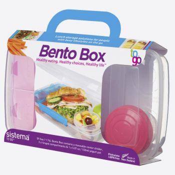 Sistema To Go lunchbox met yoghurtpotje Bento Box 1.76L (4 Types)