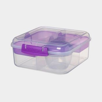Sistema To Go Bento Cube 4 compart. & yoghurtpotje 1.25L (4 ass.)