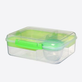 Sistema To Go Bento lunchbox 4 compart. & yoghurtpotje 1.65L (4 ass.)