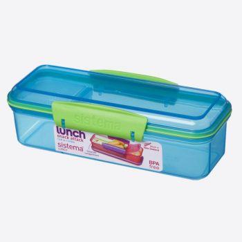 Sistema Trends Lunch snackdoos Snack Attack 410mL blauw