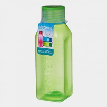 Sistema Hydrate vierkante drinkfles Square Bottle 475 ml (6 ass.)