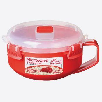 Sistema Microwave ontbijtkom met handvat 850ml (per 4st.)