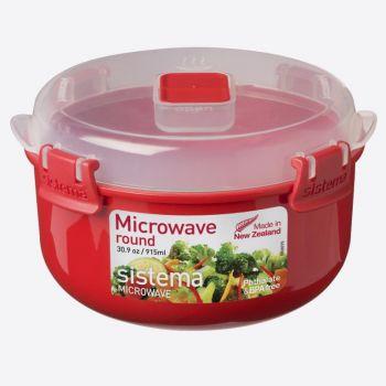 Sistema Microwave ronde kom 915ml (per 6st.)