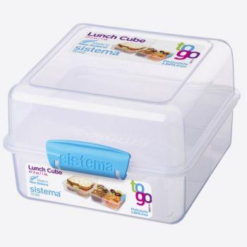 Sistema To Go lunchbox Cube blauw 1.4L (per 12st.)