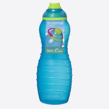Sistema Lunch drinkfles Davina blauw 700ml (per 12st.)