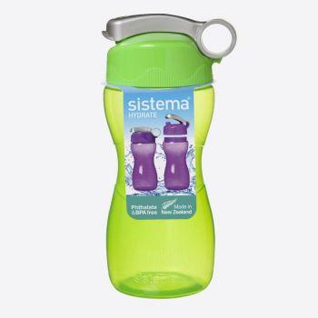 Sistema Hydrate drinkfles Hourglass limoengroen 475ml (per 6st.)