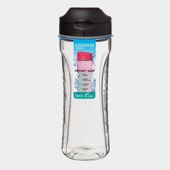 Sistema Hydrate drinkfles Tritan Swift zwart 600ml (per 6st.)