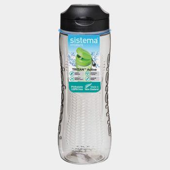 Sistema Hydrate drinkfles Tritan Active zwart 800ml (per 6st.)