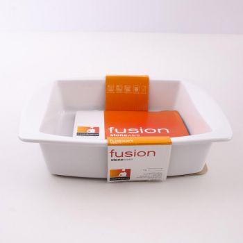 Vista Alegre Fusion ovalen schotel wit 30x27x7cm