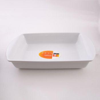 Vista Alegre Ligne Cuisine rechthoekige schaal wit 42cm