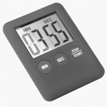 Westmark digitale kookwekker met magneet zwart 7x5.3x0.8cm