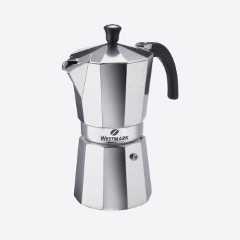 Westmark Brasilia 9-kops Italiaanse espressokan uit aluminium
