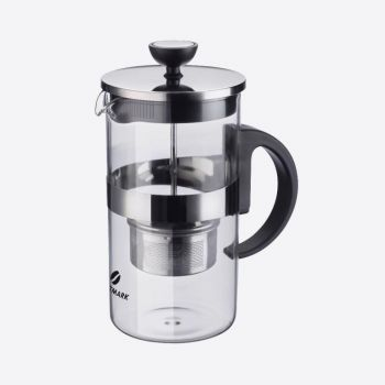 Westmark Tea Time theepot uit glas met infuser 1L
