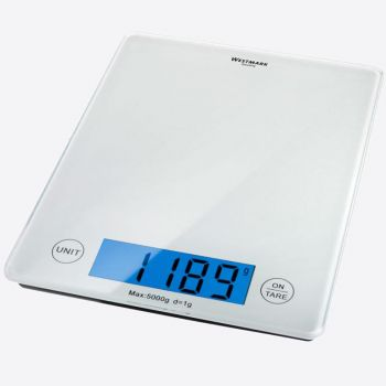 Westmark Elegance digitale weegschaal 5kg 23x18x1.8cm