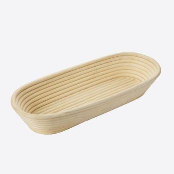 Westmark ovalen rijsmandje uit vlechtwerk 39.5x15.4x7.2cm