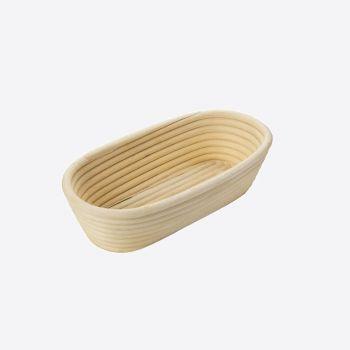 Westmark ovalen rijsmandje uit vlechtwerk 27.5x14x7.1cm
