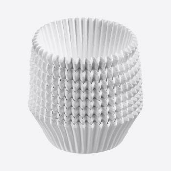 Westmark set van 80 bakvormpjes uit papier wit ø 5cm H 3.2cm