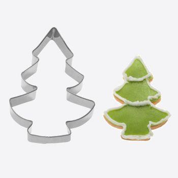 Westmark uitsteekvorm uit rvs kerstboom 8.1x5.7x2.2cm
