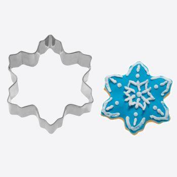 Westmark uitsteekvorm uit rvs sneeuwvlok 5.9x5.9x2.2cm