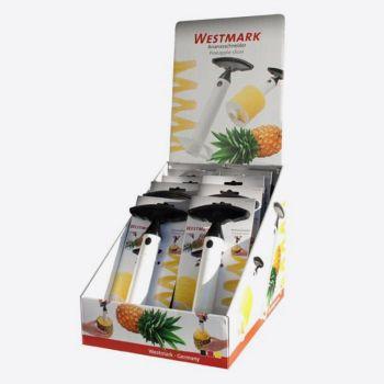 Westmark ananassnijder uit kunststof zwart en wit 8.6x9.8x23.9cm (10st./disp.)