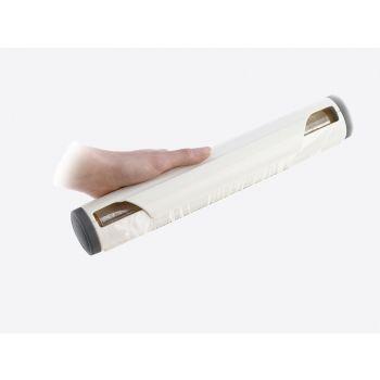 Westmark foliehouder uit kunststof wit 35x6.1x6.1cm